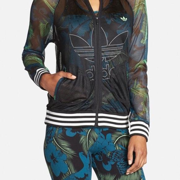 f38134ad51b adidas Other   Hawaii 2 Pieces Mesh Jacket Leggings Nwt Xl   Poshmark